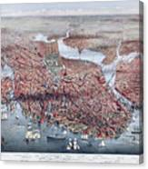 The City Of Boston Canvas Print