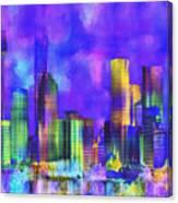 The City  Sydney Canvas Print