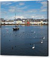 The Claddagh Galway Canvas Print