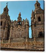 The Clerecia Church In Salamanca Canvas Print