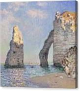 The Cliffs At Etretat Canvas Print