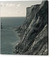 The Cliffs Of Beachy Head And The Lighthouse Canvas Print