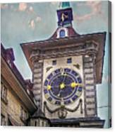 The Clock Of Clocks Canvas Print