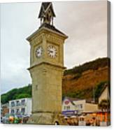 The Clock Tower At Shanklin Canvas Print