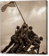 The Clouds Over Iwo Jima Canvas Print