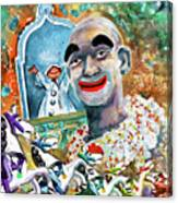 The Clown Of Tivoli Gardens Canvas Print
