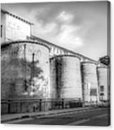 The Coal Silos Canvas Print
