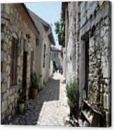 The Cobbled Back Streets Surrounding Old Marmaris Canvas Print