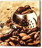 The Coffee Roast Canvas Print