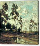 The Colliers' Hut In The Forest Of Fontainebleau Canvas Print
