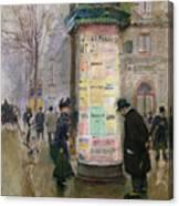 The Colonne Morris Canvas Print