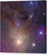 The Colorful Region Around Antares Canvas Print