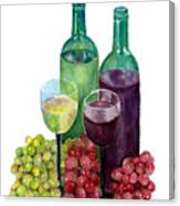 The Colors Of Wine Canvas Print