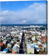 The Colours Of Reykjavik Canvas Print