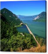 The Columbia Gorge National Scenic Area Canvas Print