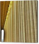 The Columns At The Parthenon In Nashville Tennessee Canvas Print