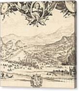 The Combat Of Avigliana Canvas Print