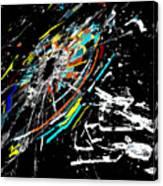 The Comet Canvas Print