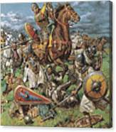 The Coming Of The Conqueror Canvas Print