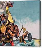 The Coming Of The Vikings Canvas Print