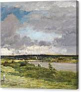 The Coming Storm, Early Spring Canvas Print
