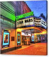 The Commodore Theatre, Portsmouth, Va Canvas Print