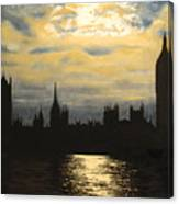 The Commons From South Bank Canvas Print