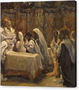 The Communion Of The Apostles Canvas Print