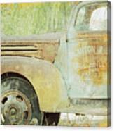 The Company Truck Canvas Print