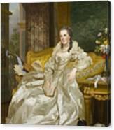 The Comtesse D'egmont Pignatelli In Spanish Costume Canvas Print
