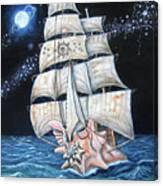 The Conchquistador Canvas Print