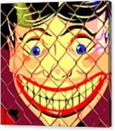 The Coney Smile Canvas Print