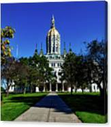 The Connecticut State Capitol Canvas Print