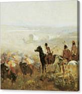 The Conquest Of The Prairie Canvas Print