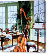 The Conservatory Canvas Print