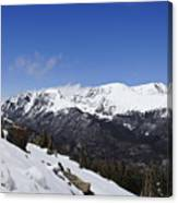 The Continental Divide Canvas Print