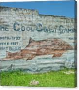 The Cool Coast Camp Canvas Print