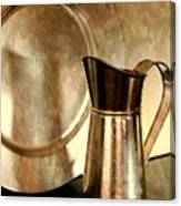The Copper Pitcher Canvas Print