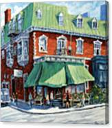 The Corner Market Canvas Print