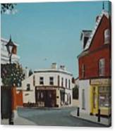 The Corner Note, Dalkey Canvas Print