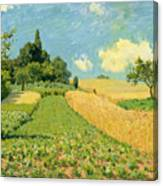 The Cornfield Painting By Alfred Sisley