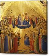 The Coronation Of The Virgin Canvas Print
