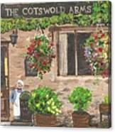 The Cotswold Arms Canvas Print
