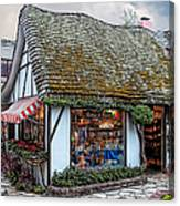 The Cottage Of Sweets - Carmel Canvas Print