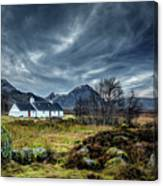 The Country Home Canvas Print