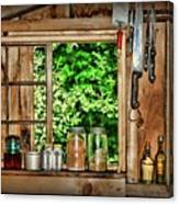 The Country Kitchen Canvas Print