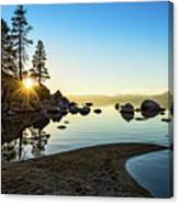 The Cove At Sand Harbor Canvas Print