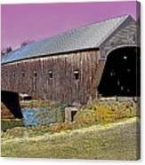 The Covered Bridge Canvas Print