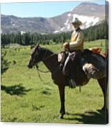 The Cowboy #5 Canvas Print