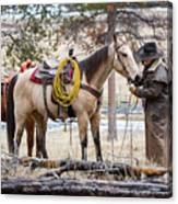 The Cowboy Way Canvas Print